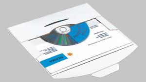 Bilde av CD-Postpack konvolutter, 220 x 124 x 5 mm, 10 stk