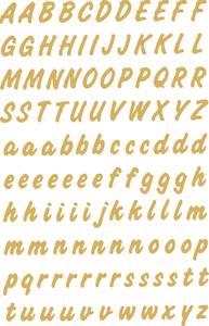 Bilde av VARIO  bokstaver 8 mm, A-Z,gull/transparent, 2