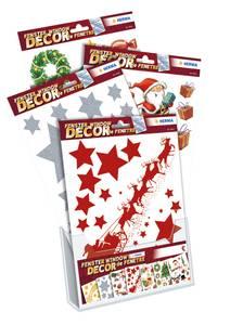 Bilde av Display Vindusdekor Jul, 7 motiver, 45 pakninger