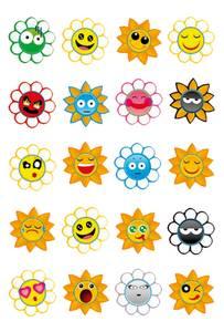 Bilde av MAGIC Stickers Livlige soler, luftpolstret