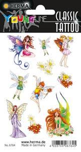 Bilde av CLASSIC Tattoos Colour Art, Feer, vannfast, 1 ark